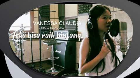 Lirik Lagu Vanessa Claudia - Aku Bisa Raih Bintang