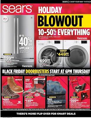 Sears Black Friday 2017 Ad