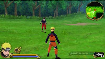 Game Naruto Shippuden Legends Akatsuki Rising ISO Untuk PSP