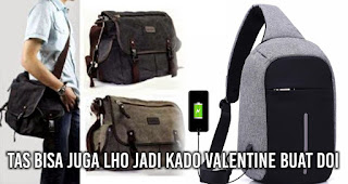 Tas Bisa Juga Lho Jadi Kado Valentine Buat Doi.