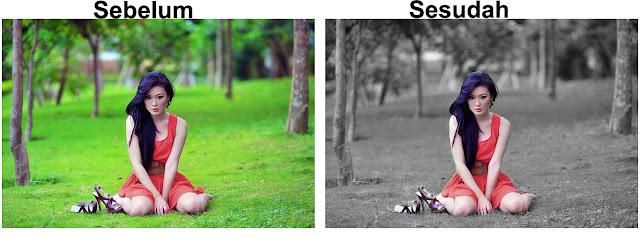 Cara Mengedit Foto di Photoshop Efek Selective Color