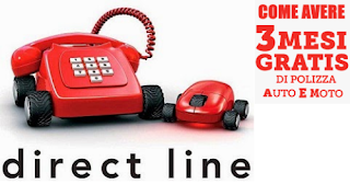 Direct Line: Come Ottenere 3 Mesi di Assicurazione Gratis