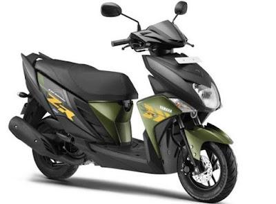 Yamaha Cygnus Ray-ZR Scooter Hd Pics