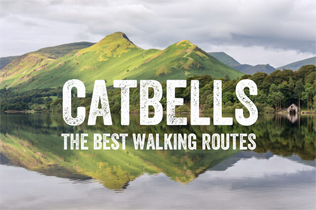 Catbells, best, waking routes, map, best view, keswick, Derwent Water, Lake District, lakes