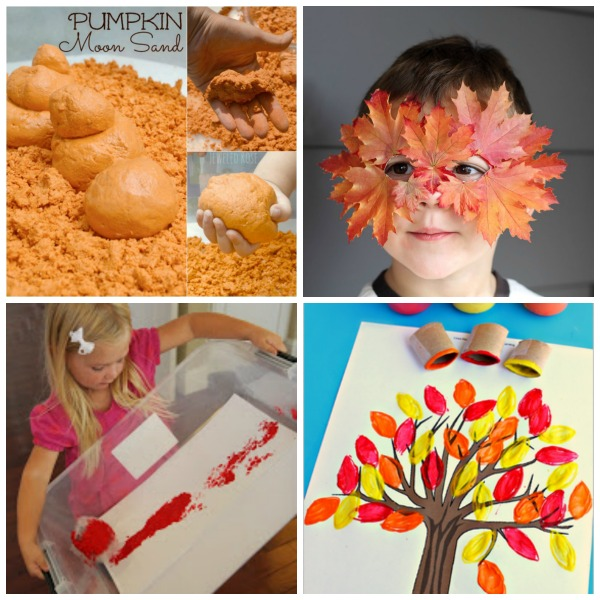 OVER 100 FALL ACTIVITIES FOR KIDS- a bucket list of fun!