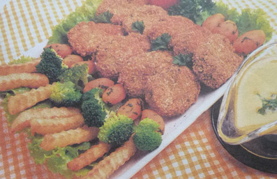 Resep Masakan Eropa Nuget Ikan Saus Lemon