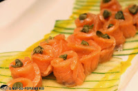 Rolled Salmon Appetizer - Niu by Vikings