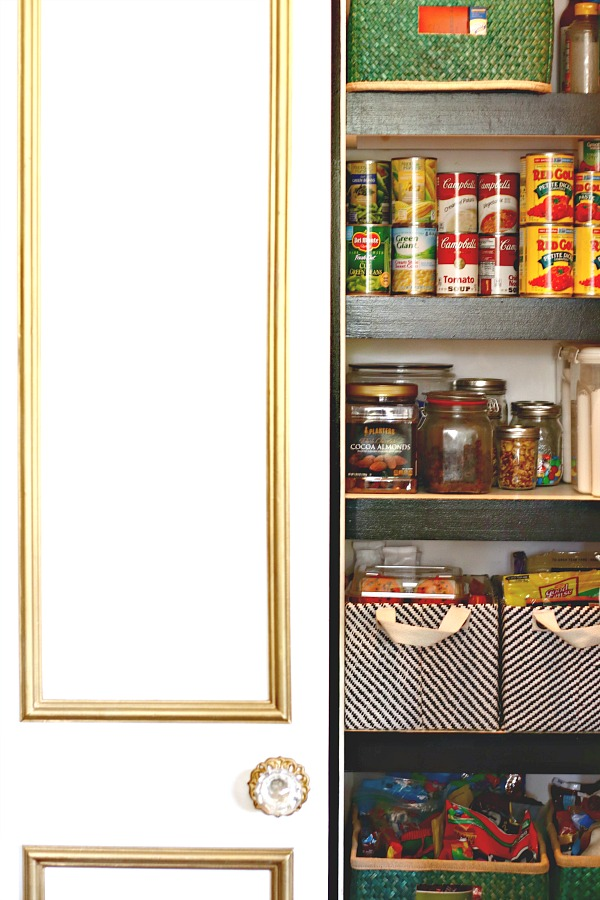 kitchen organization, holiday prep, door molding