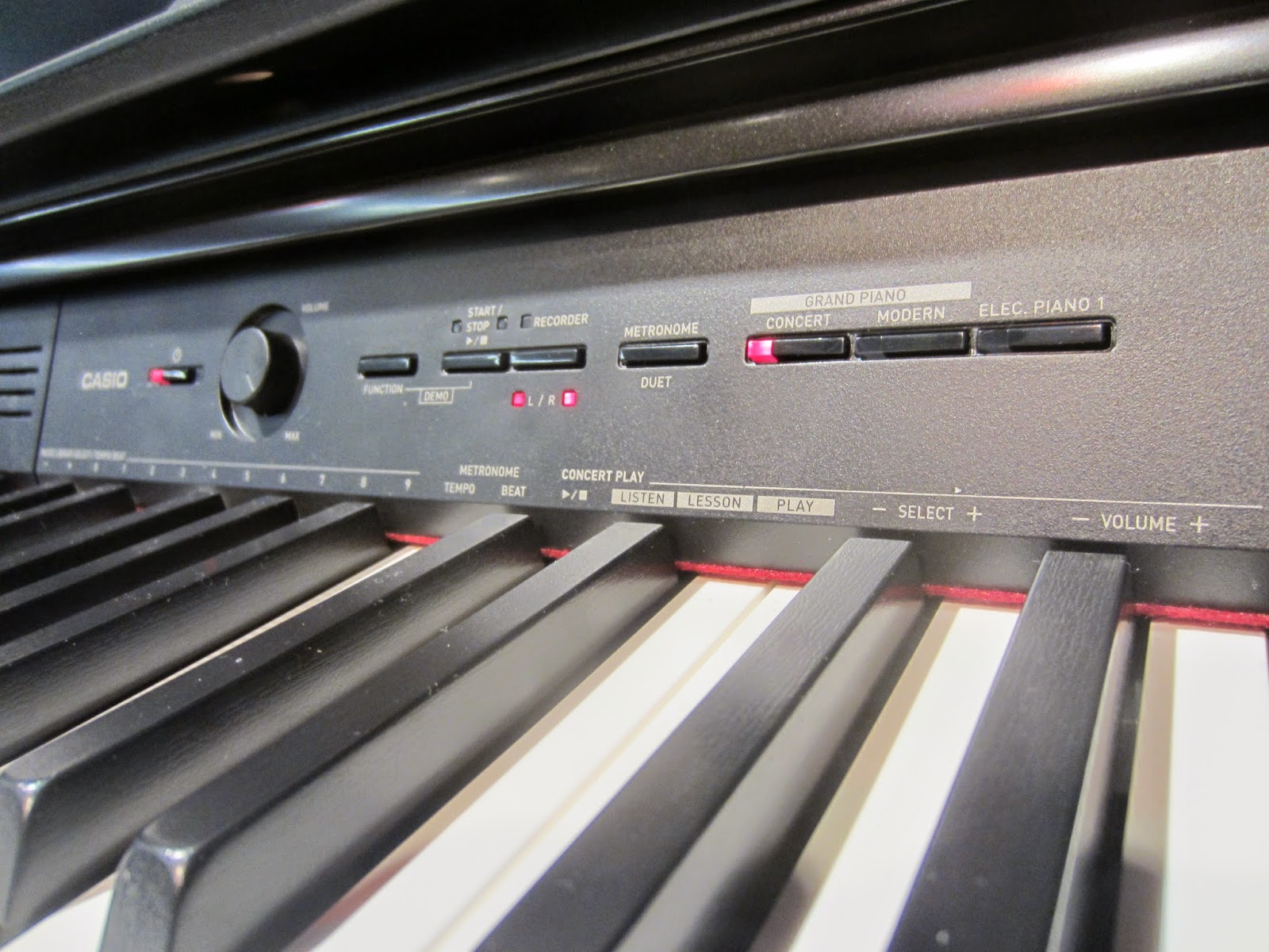 Casio PX760 digital piano