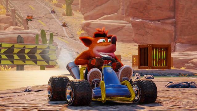 لعبة Crash Team Racing Nitro-Fueled تبهرنا من جديد عن طريق مجموعة صور رائعة