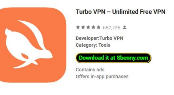 Turbo VPN Free Download on Android App