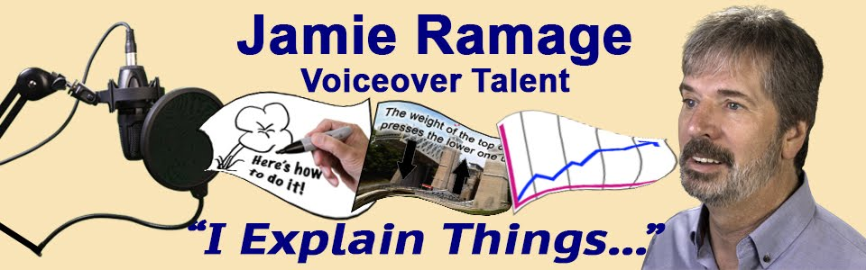 Jamie Ramage - Voiceover Talent
