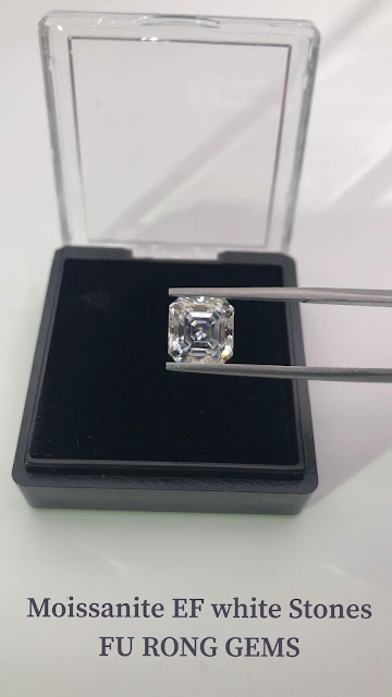 Moissanite-EF-White-Color-8x8mm-Asscher-cut-stones-for-sale-from-China