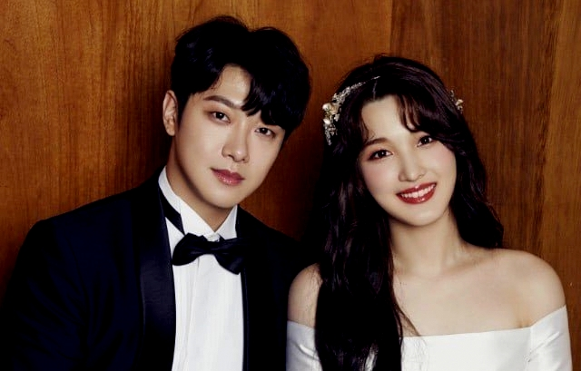 Officially Married, See the Beautiful Photos of FTISLAND's Minhwan and Yulhee Wedding Photos