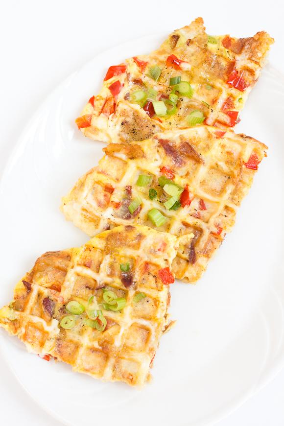 waffle frittata