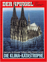 Front cover of Der Spiegel 33/1986, 'Die Klima‐Katastrophe' (Source: Der Spiegel) Click to Enlarge.