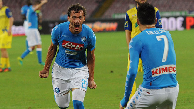 [Video] Cuplikan Gol Napoli 2-0 Chievo (Liga Italia)