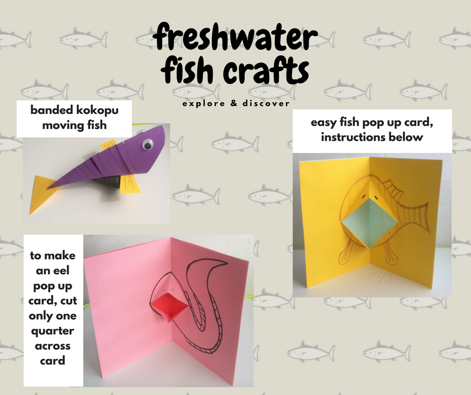 As My Latest Book Is All About Freshwater Ive Come Up With Some Fish Crafts To Keep Kids Busy On A Rainy Day Readers Of The River Will