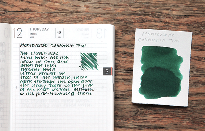 review: monteverde california teal