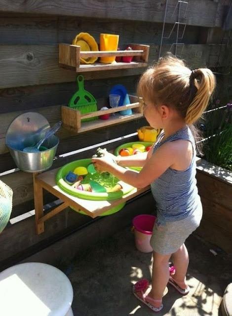 Idea de como aplicar Montessori en el exterior