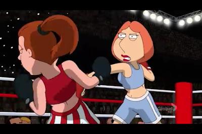 Cartoon Girls Boxing Database Family Guy Season 9