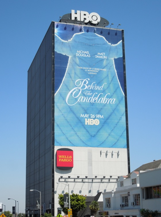 Giant Behind the Candelabra movie billboard