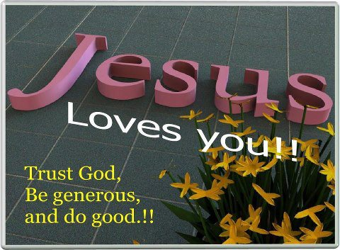 Jesus Love You Wallpapers