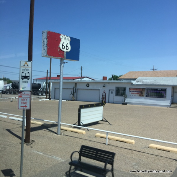 Route 66 Historic District in Amarillo, Texas