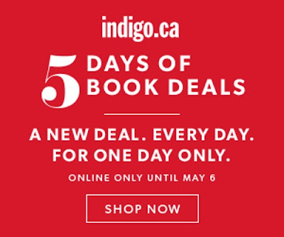 Chapters Indigo 5 Days of Book Deals
