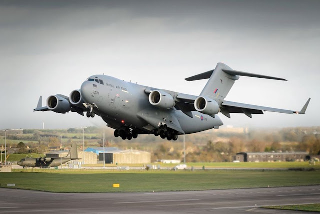 RAF signs deal maintain C-17