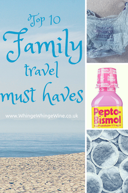 My top ten family travel must-haves - top tips for those going on holiday or vacation with small children or toddlers