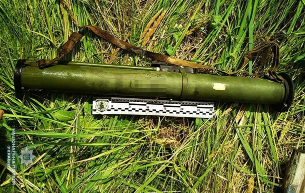 У Запорізькій області вилучили гранати і гранатомет