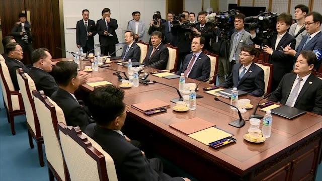 Pyongyang y Seúl realizan una nueva ronda de conversaciones