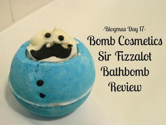 Sir Fizzalot Bomb Cosmetics Bathbomb Review