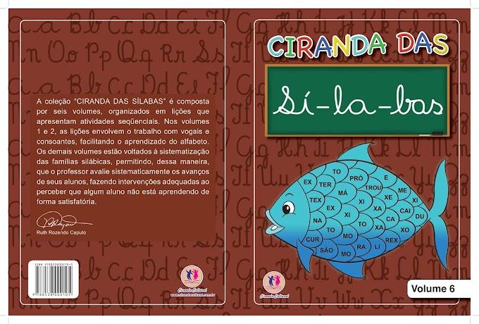 Ciranda das Sílabas Volume 6.