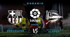 لعبة برشلونة و ألافيس مباشر