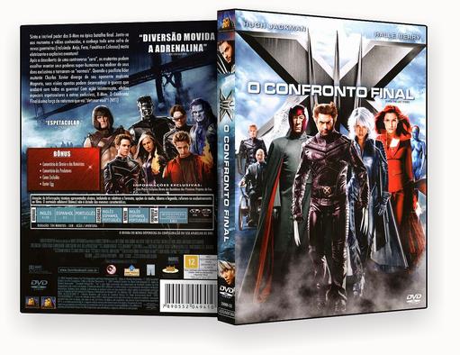 CAPA DVD – X-men 3 – DVD-R
