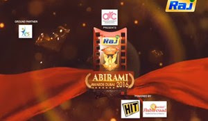Dubai Natchathira Kalai Vizha 2016 24-12-2016 Raj tv Show – Abirami Awards -Part 1