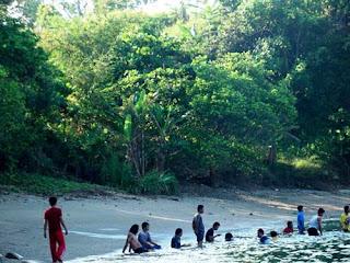 pantai muaragembong Bekasi