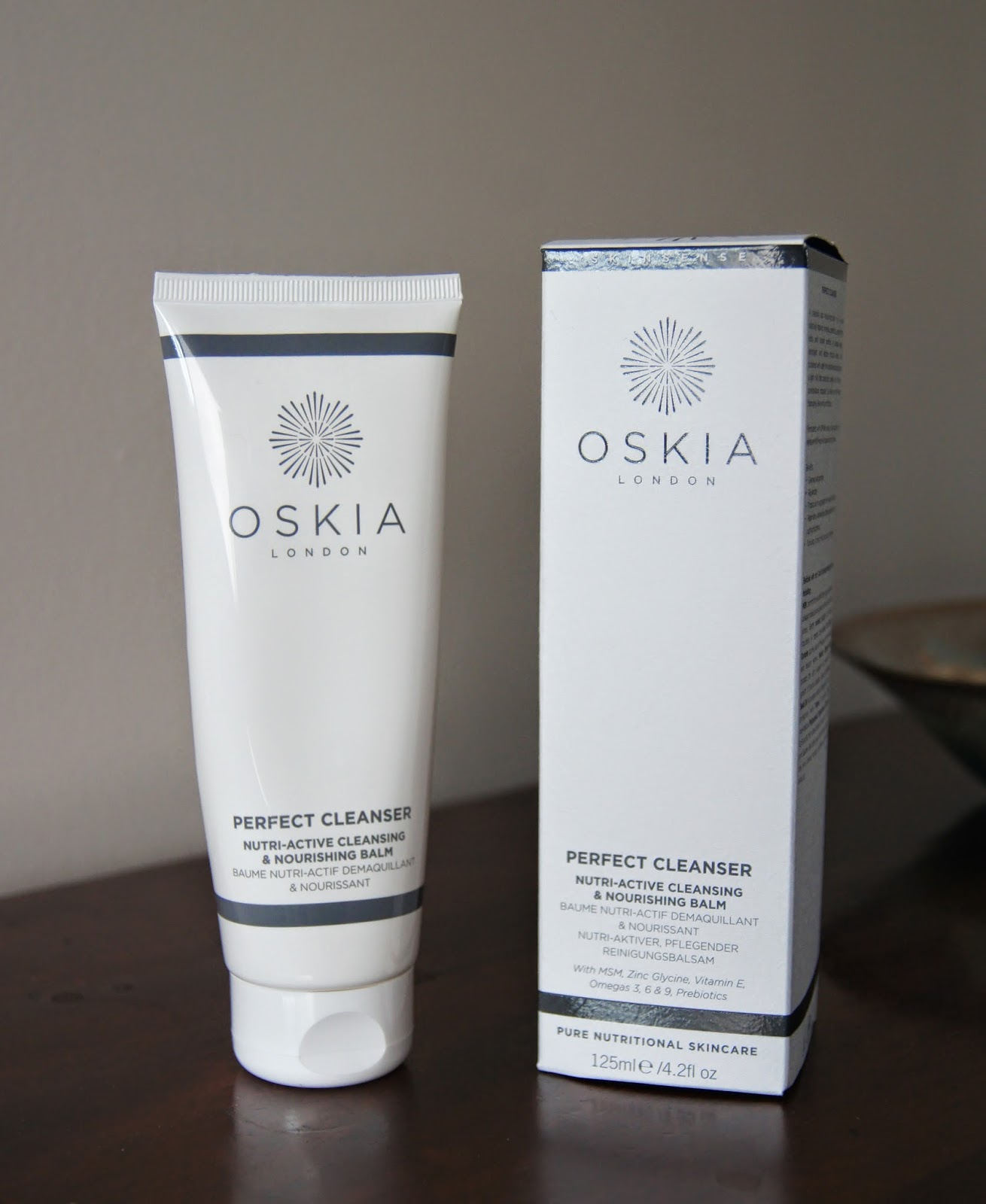 oskia perfect cleanser nourishing balm review