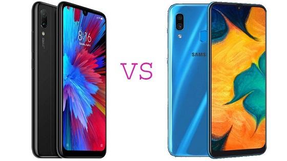 Xiaomi Redmi Note 7 VS Samsung Galaxy A30
