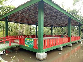 Saung Kanno Kapasitas 150 Orang, Biaya Kebersihan 100.000