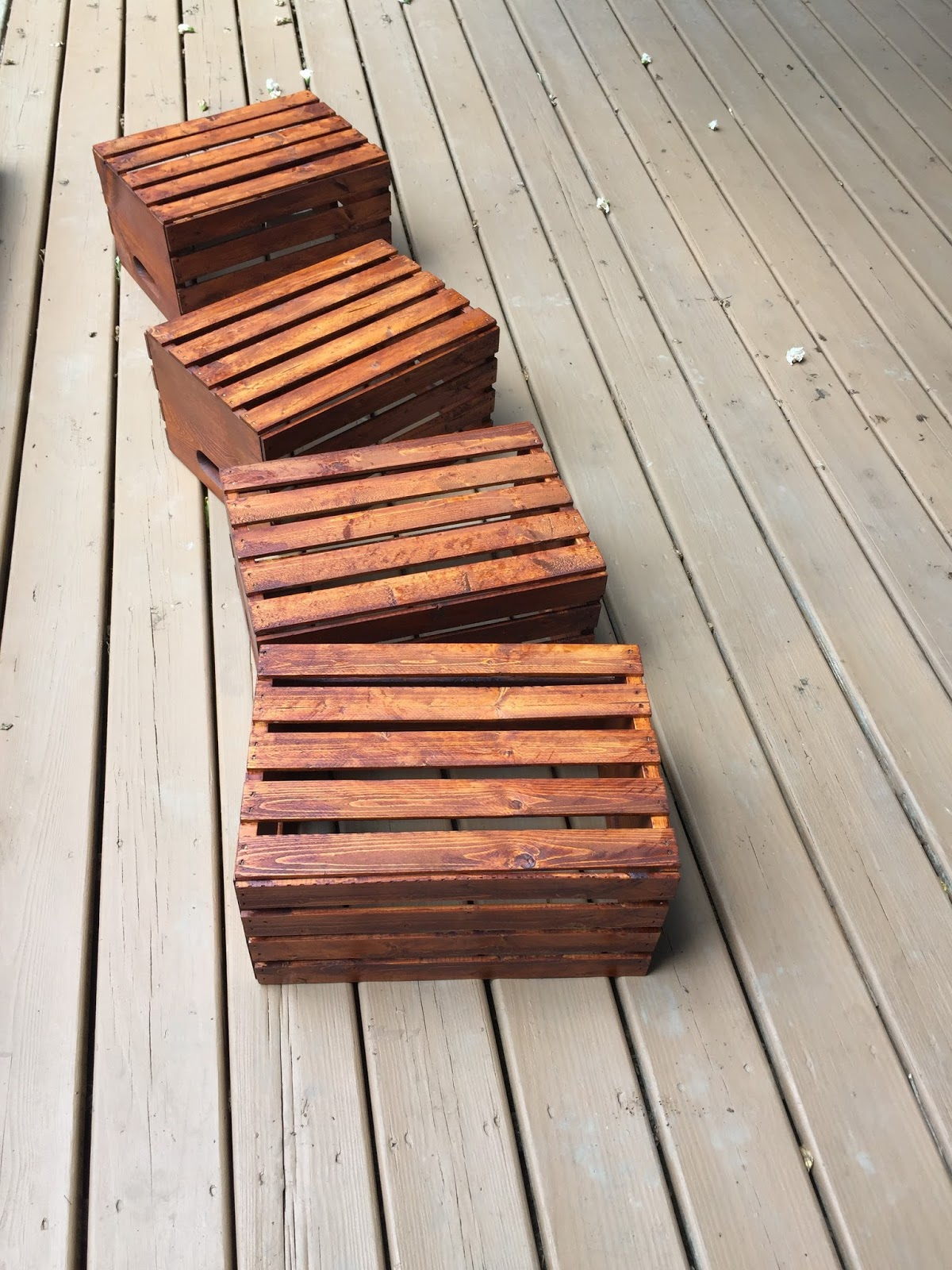 wood bench crate vintage vineyard wooden img