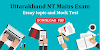 Uttarakhand NT Mains Essay topic and Mock test
