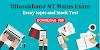 Uttarakhand NT Mains Essay topic and Mock test