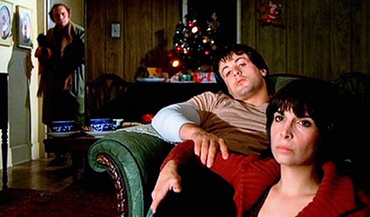 Paulie, Rocky und Adrian in ROCKY (1976). Quelle: M-G-M DVD Screenshot