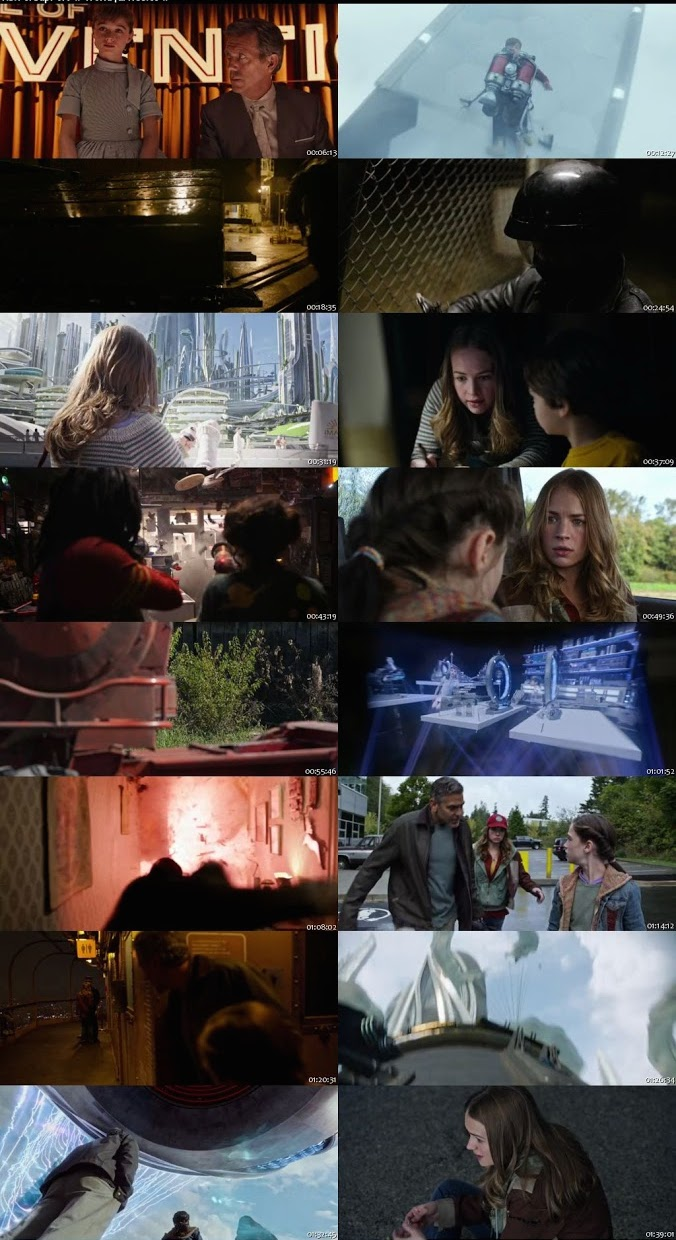 Tomorrowland 2015 BRRip 480p 350mb ESub