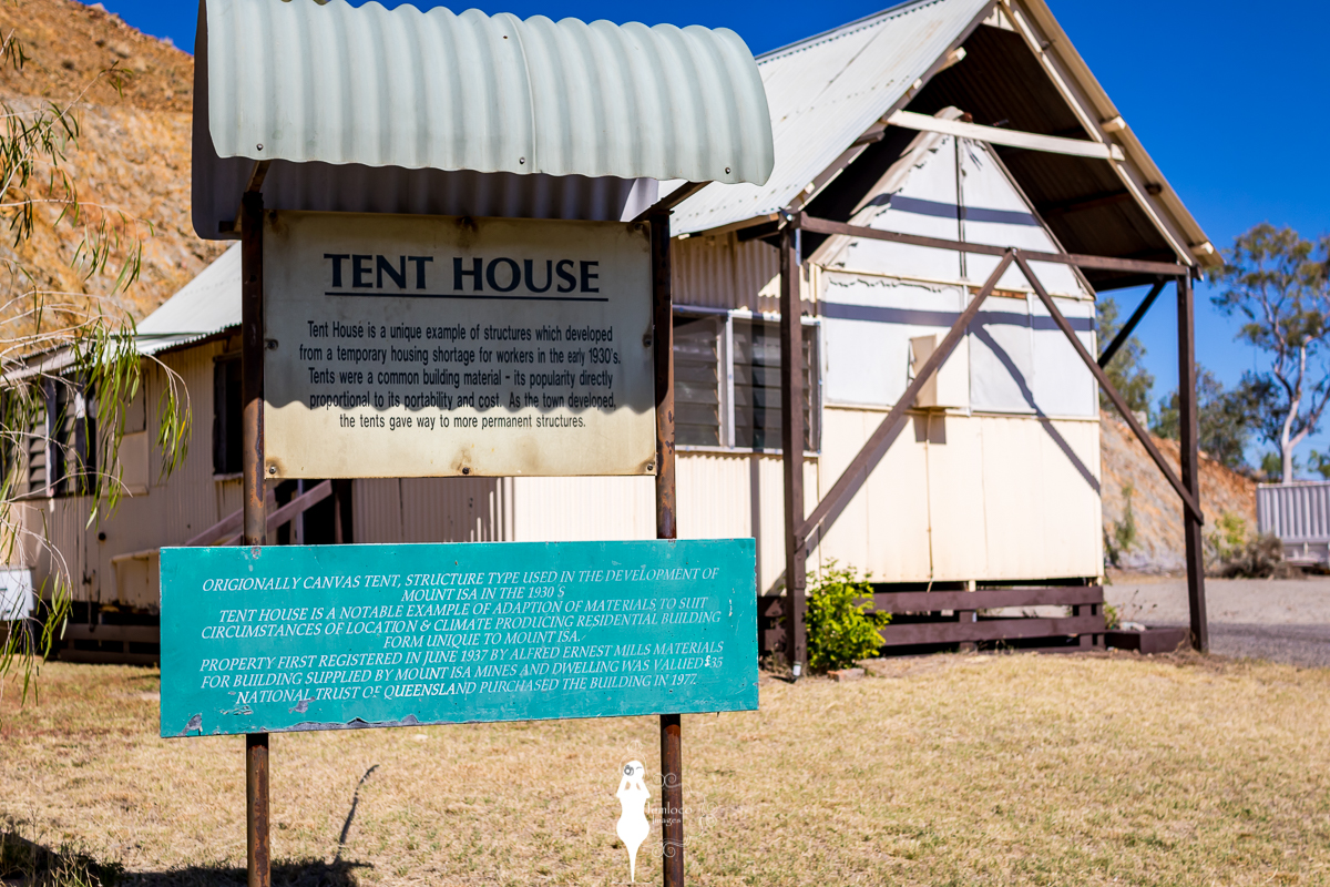 A replica of what the tent houses looked like & Tent House Musuem Mount Isa NW Queensland | Mount Isa ...