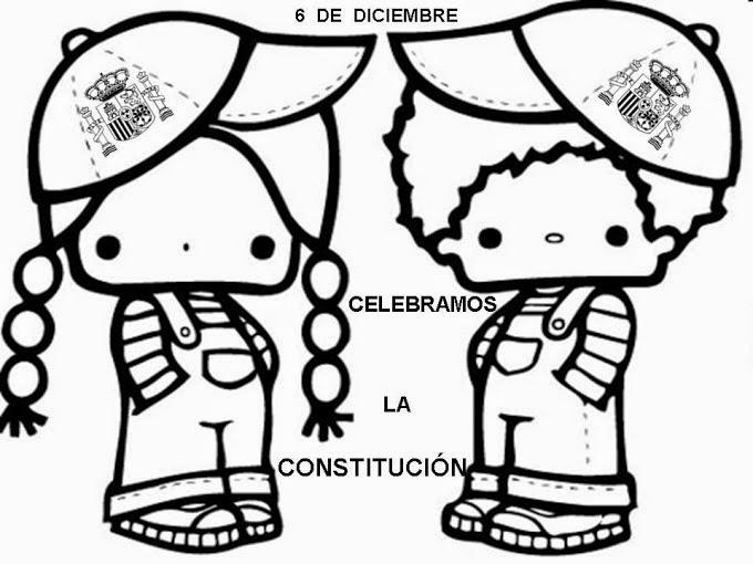 Maestra de Primaria: La Constitución Española para niños ...