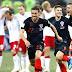 世界杯16强战绩 4:克罗地亚 90和附加补时分钟遭 1 :1 逼和,12码点球绝杀丹麦,晋级8强!